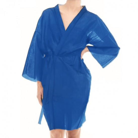 Кимоно от нетъкан текстил, Синьо