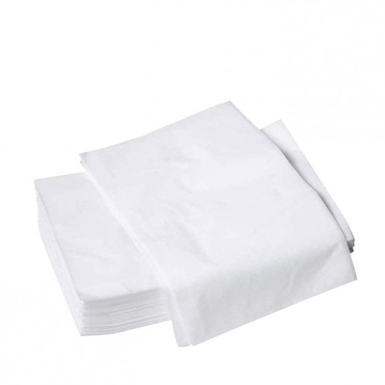 Еднократни чаршафи за масажно легло без ластик, 80x180cm – 10 бр.
