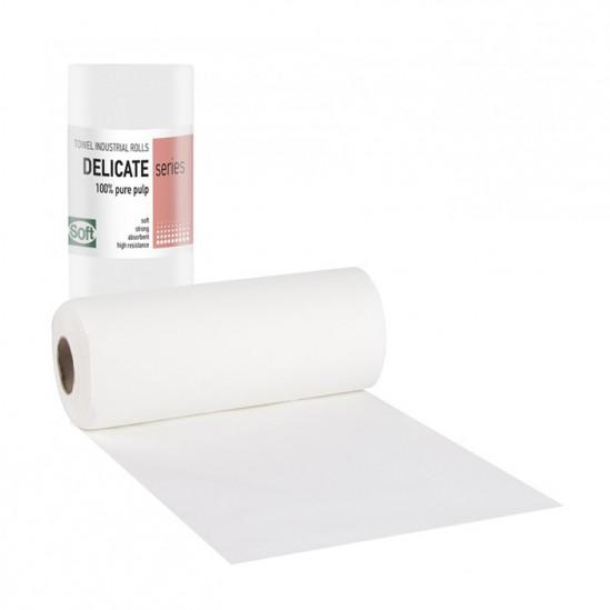 Двупластови хартиени кърпи на ролка Softcare