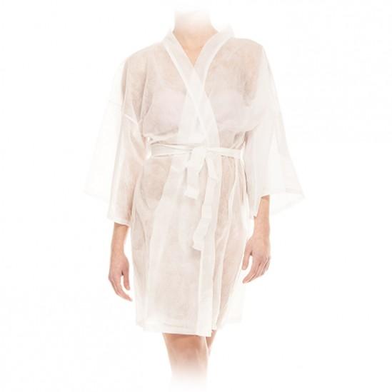 Кимоно от нетъкан текстил, Бяло