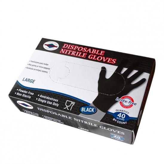 Ръкавици за еднократна употреба от нитрил, 40бр