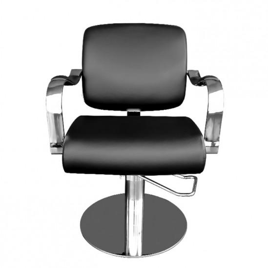 Фризьорски стол, 334 - черен