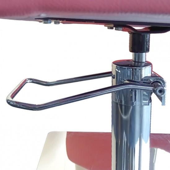 Фризьорски стол, M788 - розов