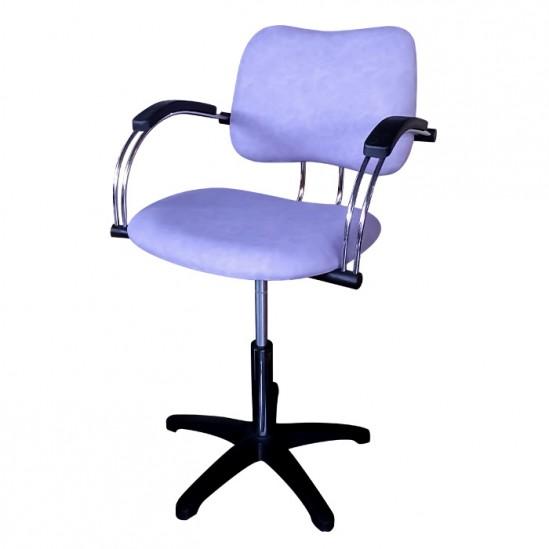 Лилав фризьорски стол модел 333