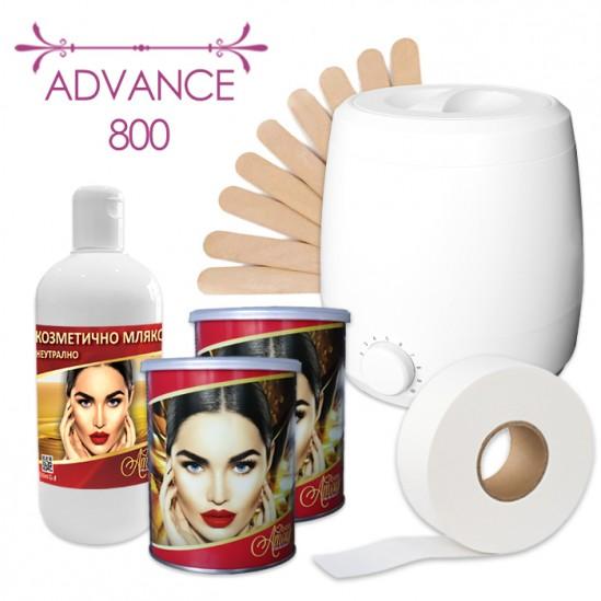 Пакет за епилация с кола маска в кутия – Advance 800