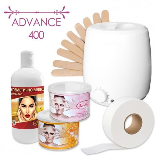 Пакет за епилация с кола маска в кутия – Advance 400