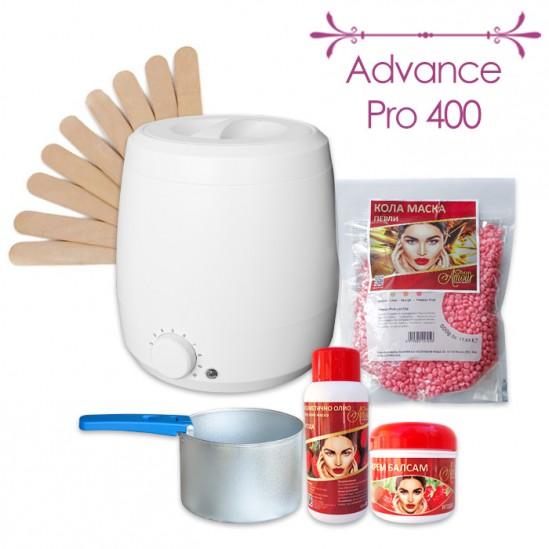 Промо пакет за епилация с кола маска на перли Advance Pro 400