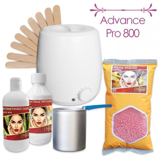 Промо пакет за епилация с кола маска на перли Advance Pro 800