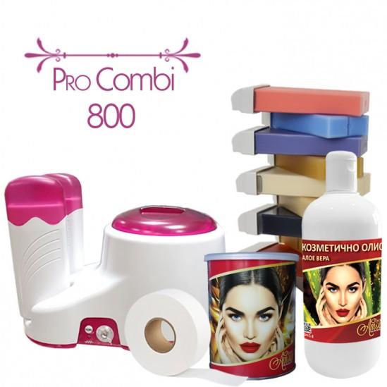 Комплект за епилация с кола маска - PRO COMBI 800