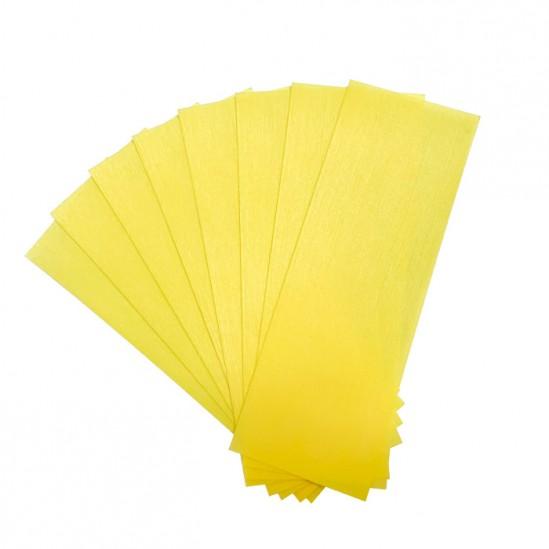Нарязани ленти за кола маска, жълти, TNT, 50бр