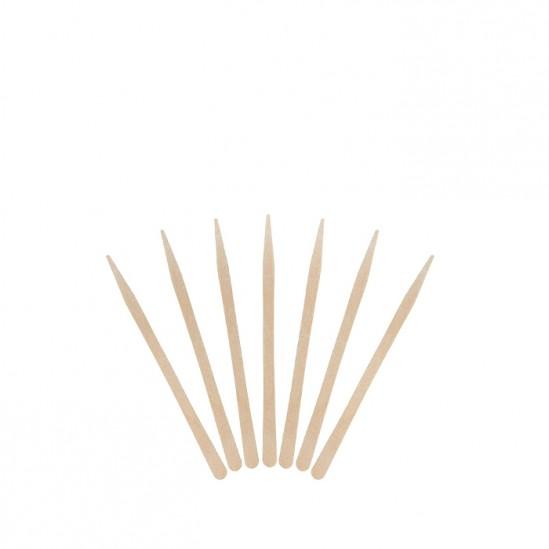 Дървени шпатули за лице и деликатни зони – 100 бр.
