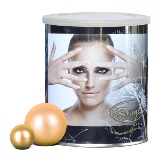 Кола маска кутия - златна перла 800гр, Ro.ial