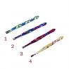 Пинсета за вежди с флорални мотиви - A3