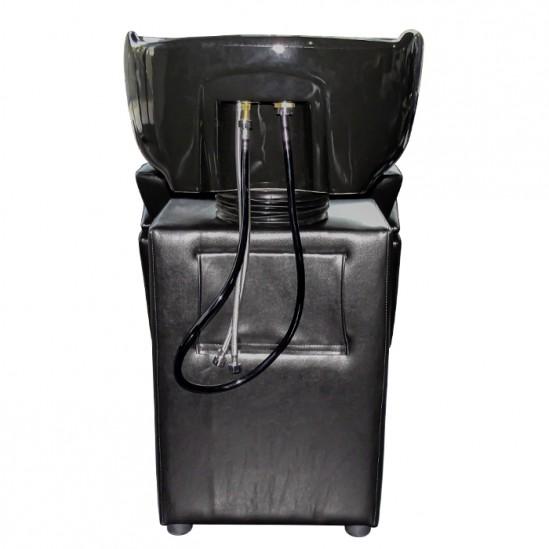 Фризьорска измивна колона M950, черна
