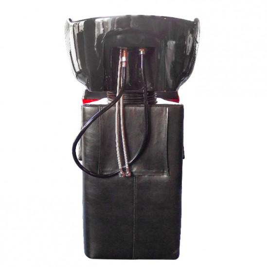 Измивна колона FO22, черно-червена