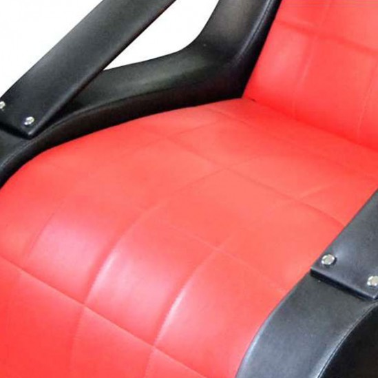 Комплект с оборудване за фризьорски салон Red & Black