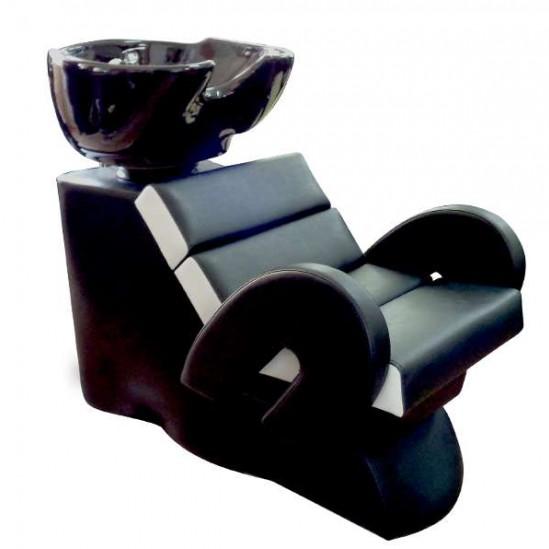 Професионална измивна колона Модел FO22 черно бяла