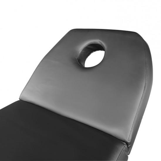 Легло за масаж и козметика KL260, Черен - 70см