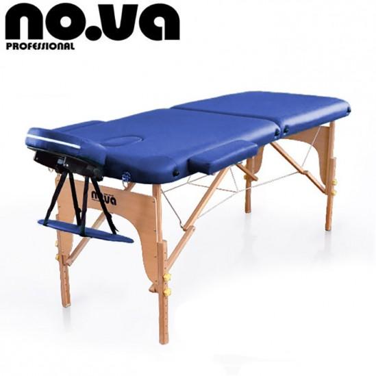 Дървена масажна кушетка, NO.VA Standart, NV22 - тъмносиня
