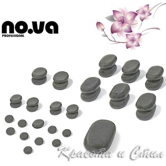 35 х базалтови вулканични камъни за масаж - комплект