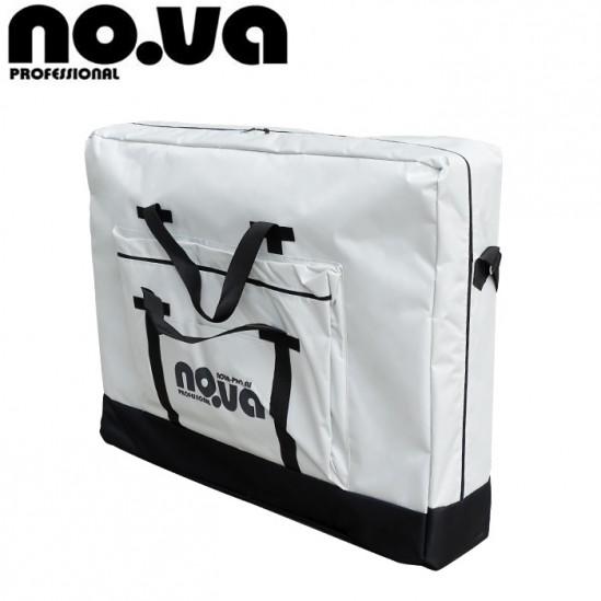Алуминиева масажна кушетка с повдигане, NO.VA Aero Delux Plus, NV36 - лилаво и бяло