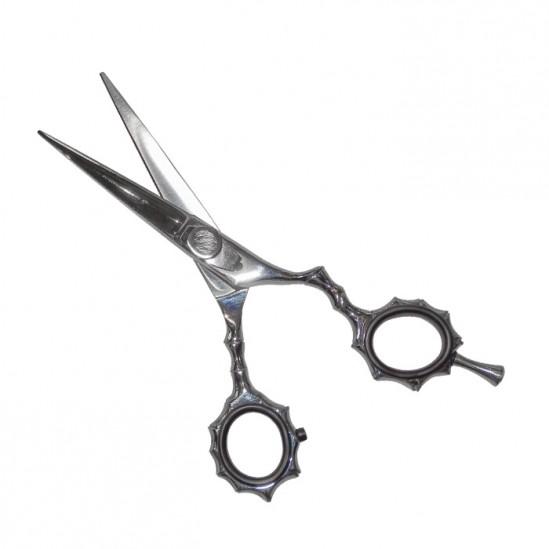 Фризьорска ножица с ергономичен дизайн N7, Сребрист