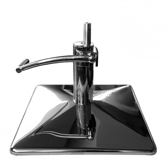 Квадратна основа с хидравличен повдигач с педал за фризьорски стол - WWP9