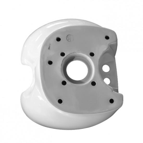 Мивка за измивна колона бяла - DM1