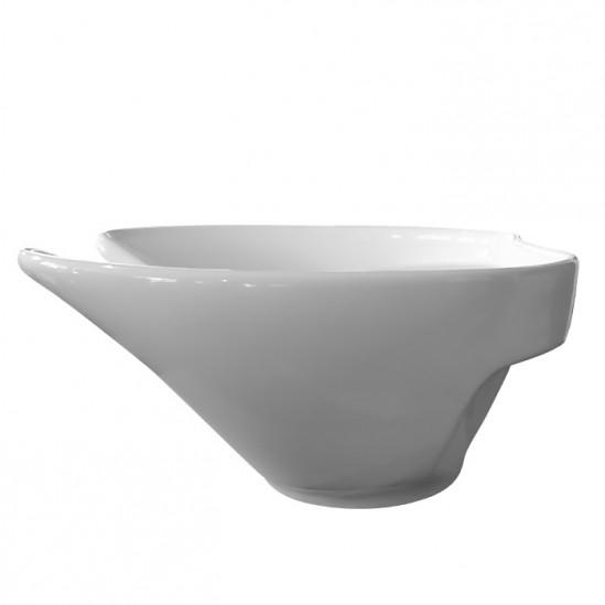 Мивка за измивна колона бяла модел DM2
