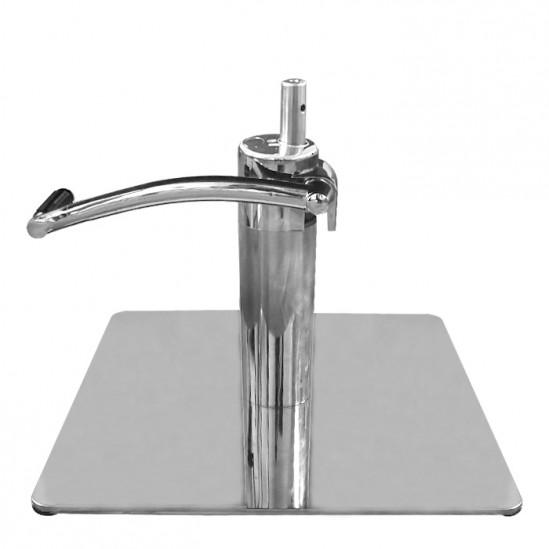 Плоска квадратна основа с хидравличен повдигач с педал за фризьорски стол - WWP10