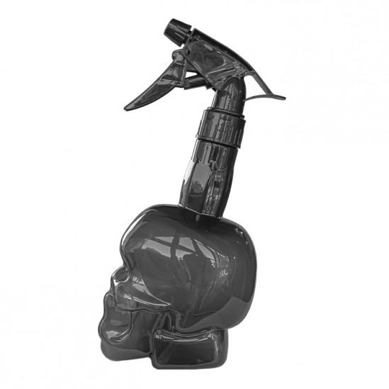 Фризьорски и бръснарски флакон с пулверизатор Grey Skull