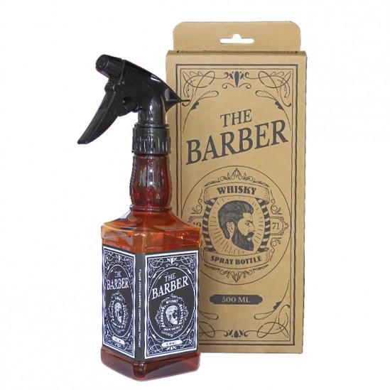 Фризьорски и бръснарски флакон с пулверизатор Whisky, 500 мл.