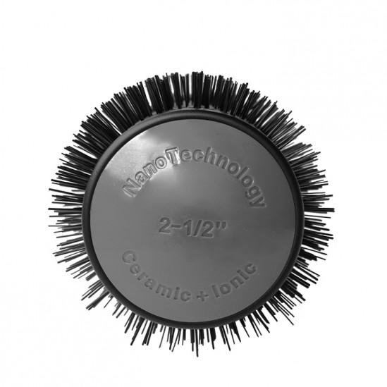Професионална четка с турмалиново керамично покритие, Ø 65 мм