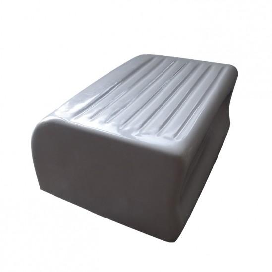 Бяла стойка за крака - D421