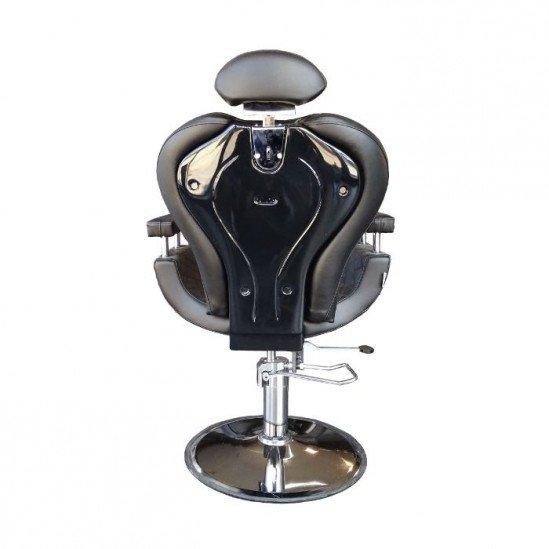 Бръснарски стол с геометрични мотиви - N603
