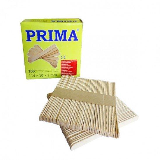 Дървени шпатули Prima за нанасяне на кола маска 200 броя