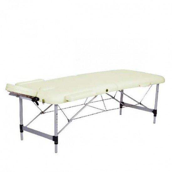 Олекотена алуминиева кушетка за масаж, NO.VA Aero, NV22, бежова