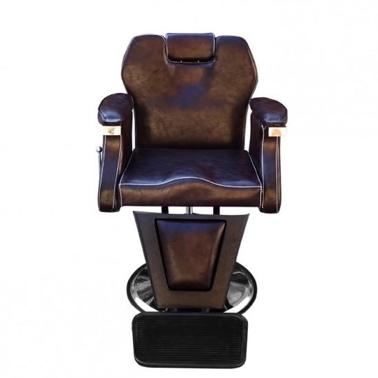Бръснарски стол с класически дизайн - 3165