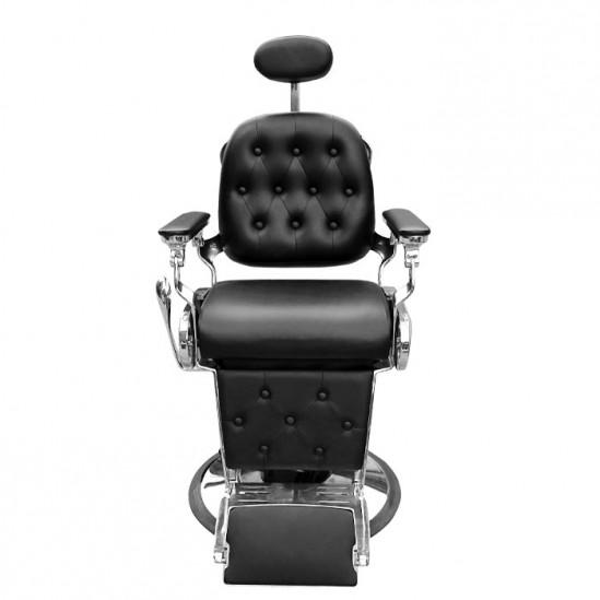 Бръснарски стол в черен цвят - IM229