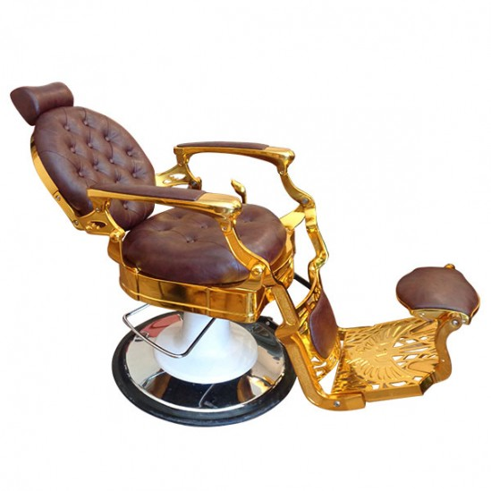 Луксозен бръснарски стол – Модел BO49