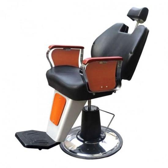 Бръснарски стол - PL250AK-B, черен