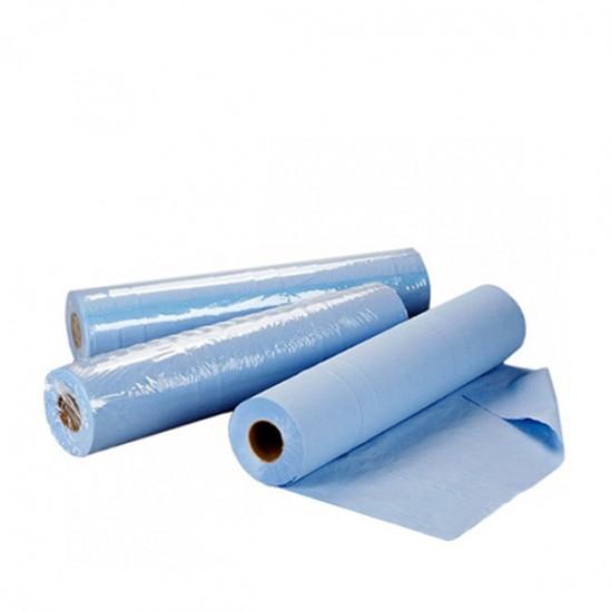 Чаршафи за еднократна употреба на ролка TNT - син 60см или 70см