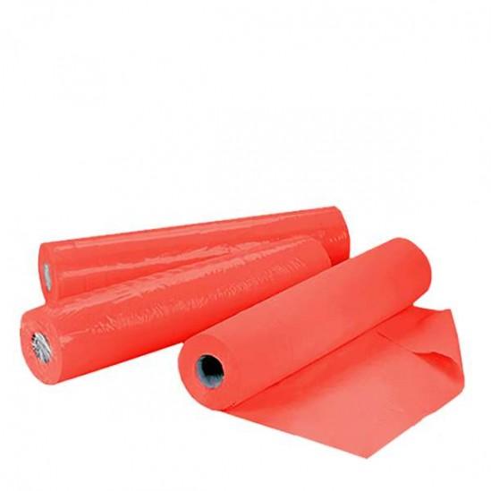 Чаршафи за еднократна употреба на ролка TNT - червен 60см или 70см