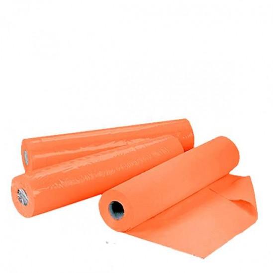Чаршафи за еднократна употреба на ролка TNT - оранжев 60см или 70см