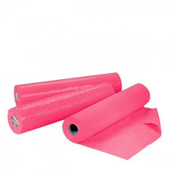 Чаршафи за еднократна употреба на ролка TNT - розов 60 см или 70 см