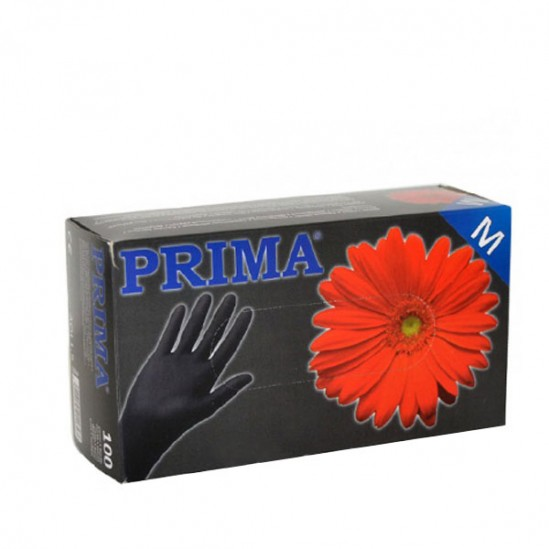 Ръкавици за еднократна употреба Черни - кутия 100 броя