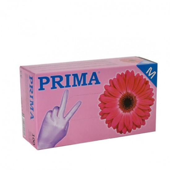 Ръкавици за еднократна употреба розови - 100бр
