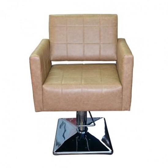 Стол за подстригване, M401-LB - Кафяв