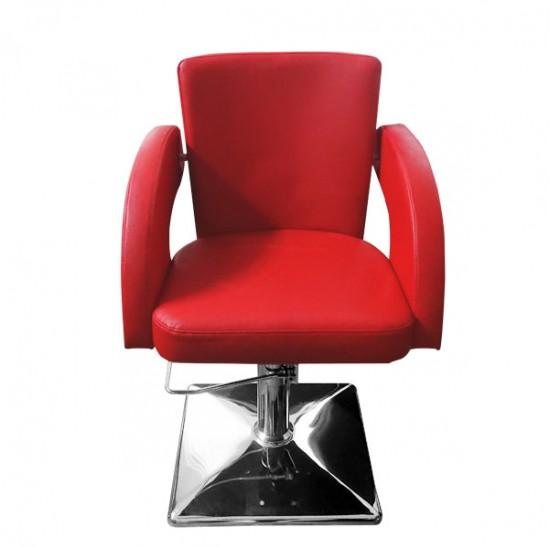 Фризьорски стол, M1001 - червен