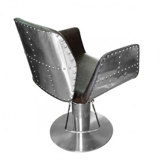 Фризьорски стол, HA295 - кафяв